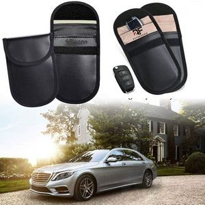 Car Key and Credit Card Signal Blocker RFID Pouch Case