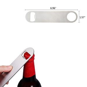 Long Handle Stainless Steel Bottle Opener