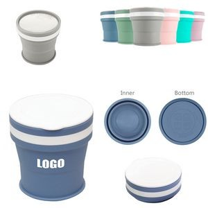 350ml Silicone Collapsible Cup