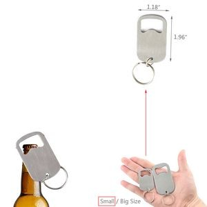 Big Size Bottle Opener With Key Chain