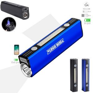 Dual-arc Lighter Flashlight With Power Bank