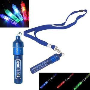 Light Up Whistle Lanyard