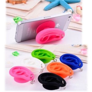 Ear Shaped Silicone Winder/Key chain