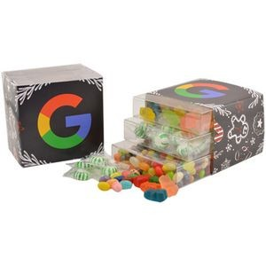 Candy 3 Way Stack Acetate Tower w/Full Color Sleeve