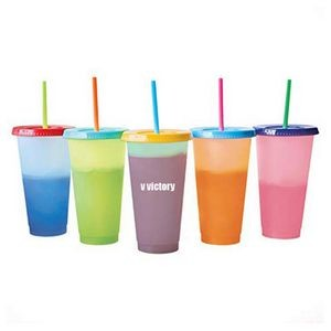 5PCS Plastic Cold Cups