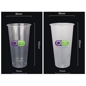 20 OZ Custom Plastic Injection Cup