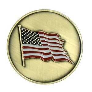 American Flag Stock Ball Markers