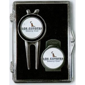 Divot Tool, Hat Clip and Ball Markers
