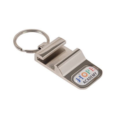 Bottle Opener Phone Holder Keytag