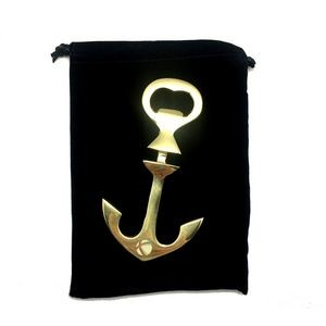 Brass Anchor Bottle Opener