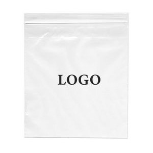 "Zip-lock Printed Bags 4 Mil. (Ink Imprinted) 18"" x 20"""