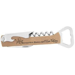 Bottle Opener & Wine Corkscrew