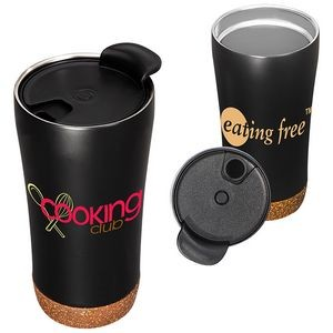 16 Oz. Double-Wall Vacuum Cup w/Cork Base