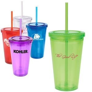 16 Oz. Double Wall Cool Acrylic Cup