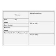 Post-it® Custom Printed Form Dry Erase Surface