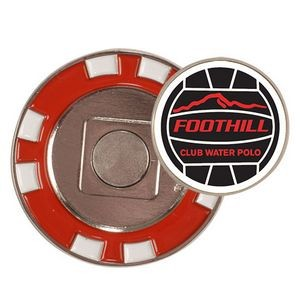 Poker Chip w/ Removabel Ball Marker