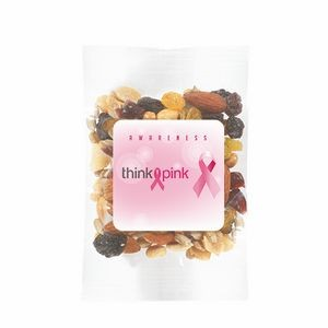 Breast Cancer Awareness Survivor Snack Bags w/ Fitness Trail Mix