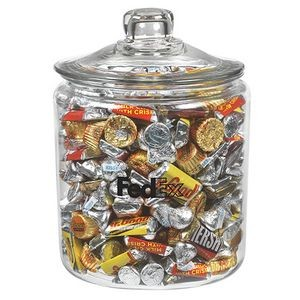 Hershey's® Holiday Mix in Gallon Glass Jar