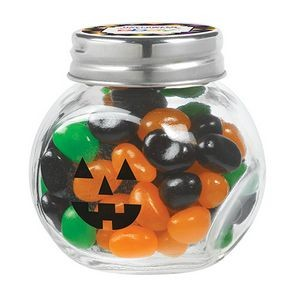 Cryptic Canister Jar w/ Monster Mix Jelly Belly Jelly Beans