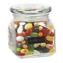 Contemporary Glass Jar - Jelly Belly® Jelly Beans (10 Oz.)