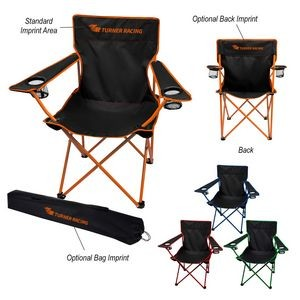 Jolt Folding Chair With Carrying Bag