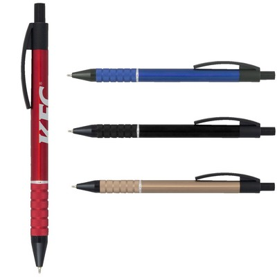 Unity Super Glide Metal Pen with Black Accents