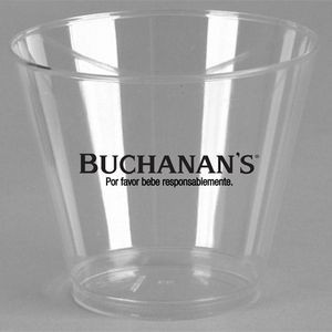 5 Oz. Crystal Clear Plastic Squat Cup