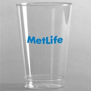 10 Oz. Crystal Clear Plastic Cup