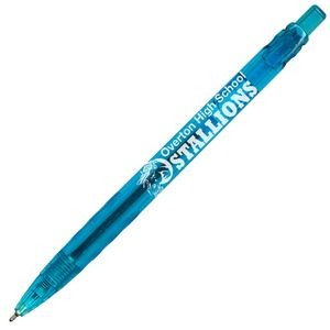 Lusitano Retractable Ballpoint Pen - Light Blue