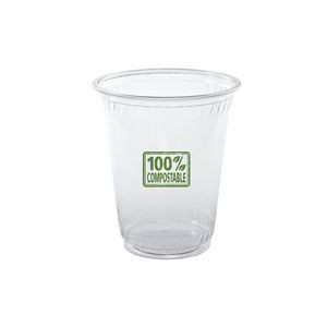7 Oz. Soft-Sided Greenware Plastic Cup (Grande Line)