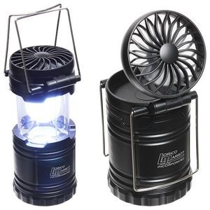 Retro Lantern with Fan