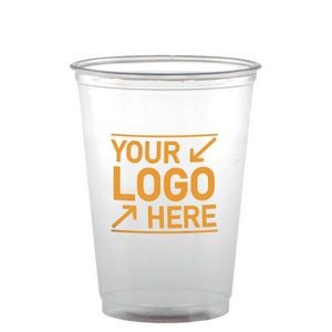 10 Oz. Clear Soft-Flex Disposable Plastic Cup