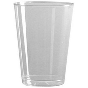5.25 Oz. Tall Clear Rigid Disposable Plastic Tumbler