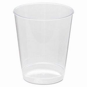 8 Oz. Clear Rigid Disposable Plastic Tumbler