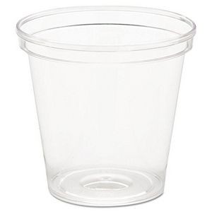 1 oz Clear Rigid Disposable Sampling Shot Glass