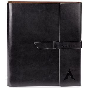 Fabrizio Refillable Portfolio/Eco 3-Hole Notebook/3-Ring Binder