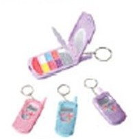 Bling Cellphone Lip Gloss Key Chain