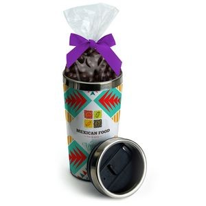 16 Oz. Paper Insert Steel Tumbler w/Candy Bag