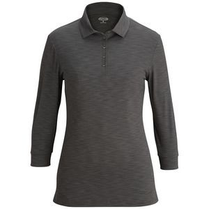 Optical Heather Polo