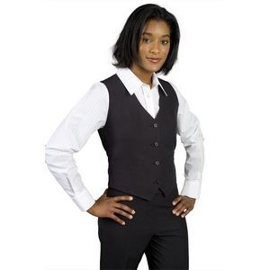 Ladies Gourmet Lined V Neck Vest