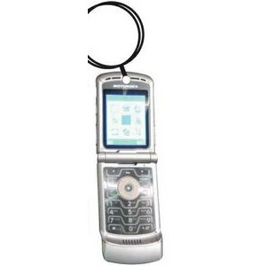 Cell Phone Keychain w/ Mirrored Back (10 Square Inch)