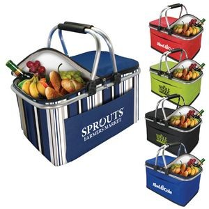 Collapsible Insulated Picnic Basket