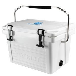 20QT Patriot® Roto-Molded Cooler - Made in the USA