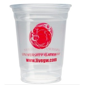 16 Oz. Clear Party Cup