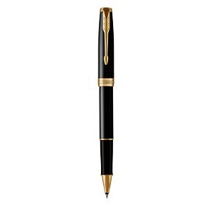 Parker Sonnet Black Lacquer GT Rollerball