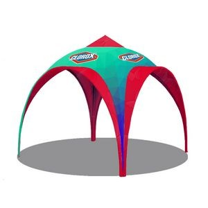 10' Dia. Action Tent, Standard Side Wall x 2