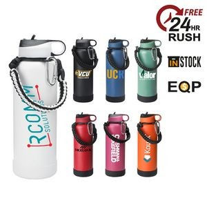 24 oz. Matted Vacuum Insulated Stainless Steel Bottle