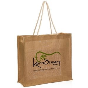 "Jute Bags with Rope Handle (15.875""x14"")"