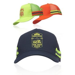 Structured Safety Reflective Caps