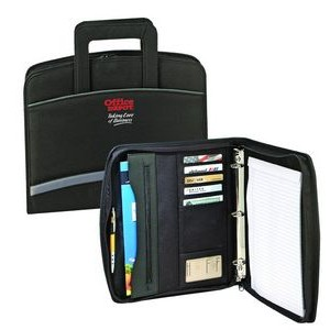 Zippered Binder Padfolio